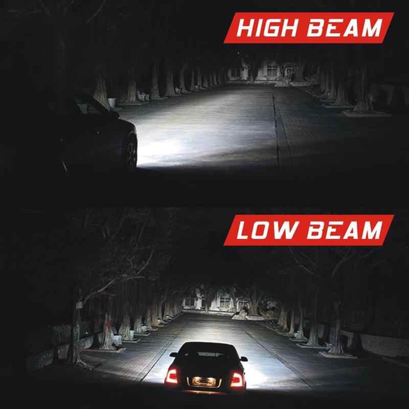 Onever 2 Pcs Car Lights 6000K 12V 8000LM LED H4 H7 H11 H8 9006 H1 H3 Car Headlight Bulbs LED Lamp Auto Fog Lights Lamp