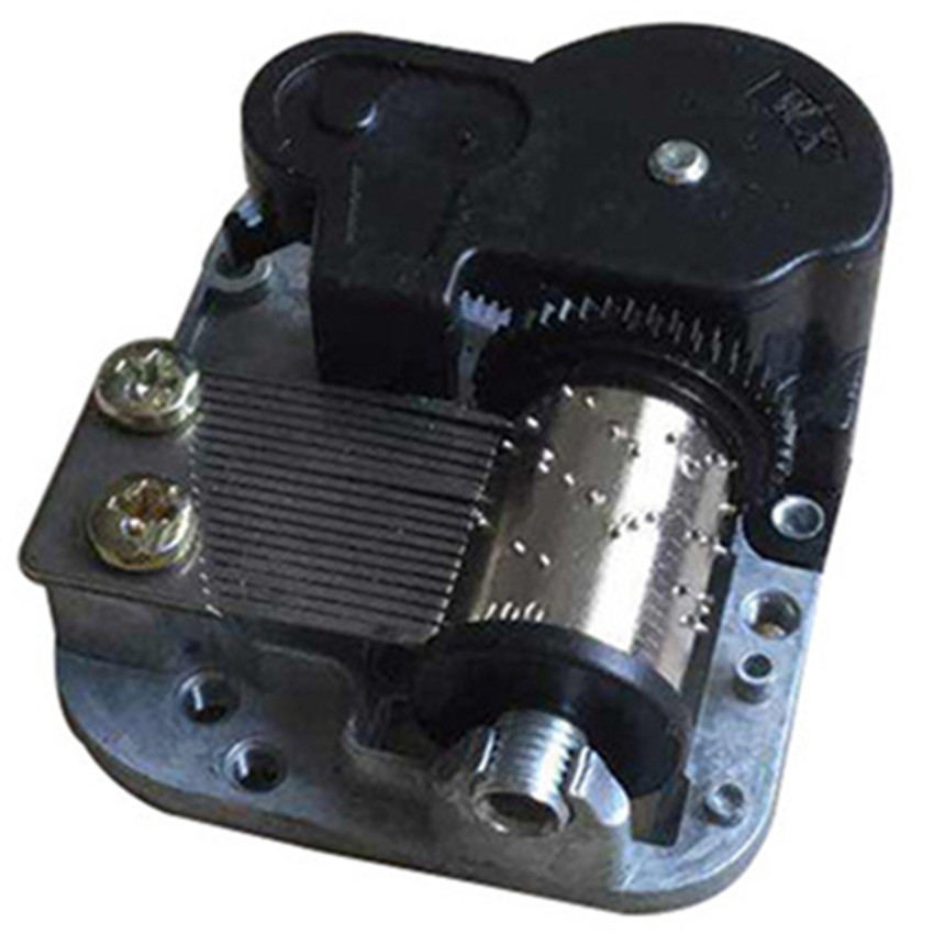 1PCS Music Box Movement 18 Tones Best Mechanical Metal Music Boxes Novelty Gag Toys DIY Toy Clockwork Music Box With Screws