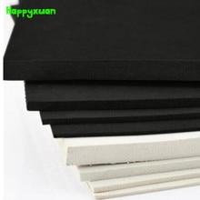 Happyxuan 5pcs 50*35cm 5 milímetros Folha de Espuma EVA Material de Cosplay Preto Branco 45 grau Papel Esponja ofício DIY
