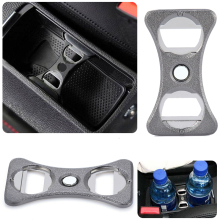 Stainless Steel Car Beer Bottle Cup Opener Holder Divider for V-W Parts G-OLF MK5/6 GT G-Ti R32 Holders