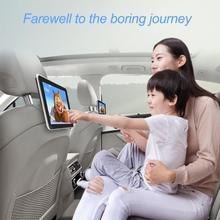 Универсальный 9 дюймов 12 В Автомобильный подголовник монитор цифровой цветной ЖК-экран высокой четкости авто подголовник подвесной Монитор Кронштейн