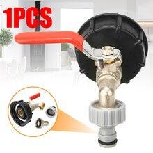 "IBC خزان محول S60X6 إلى النحاس الحنفية 1/2 ""استبدال صمام تركيب أجزاء للمنزل حديقة موصلات المياه"