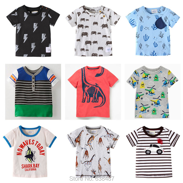 b817191e814ac US $7.48 30% OFF Baby Boys t shirt Brand Quality 100% Cotton Summer  Children Clothing Kids Tees New 2019 Short Sleeve T Shirt Baby Girls  Clothes-in ...