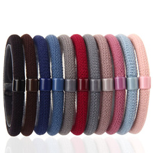 цены Hot 3PCS/Lot High Quality Fashion Elastic Solid Girls Hair Band Hair Rope Women Hair Accessories