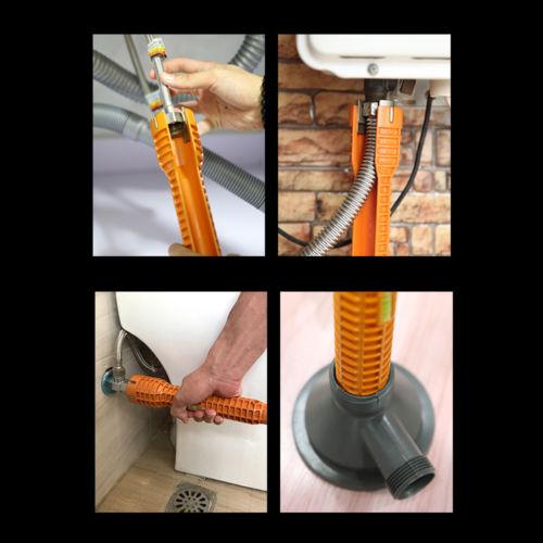 Klempner Waschbecken Schlüssel Becken Wasser Rohr Installation Leicht Equipment