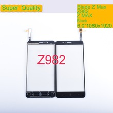 10Pcs/lot Touch Screen Digitizer For ZTE Blade Z Max Z982 Panel Touchscreen Lens Front Glass Sensor NO LCD