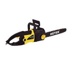 Пила цепная электрическая HUTER ELS-2400 (Автоматическая смазка цепи, тормоз цепи, покрытие рукоятки сделано из полимерного материала, что предотвращает выскальзывание,  зубчатый упор способствует осуществлению более