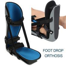 Soporte de ortosis para el tobillo del pie almohadilla correctora de soporte para Plantar de pie, para rehabilitación, férula del pie