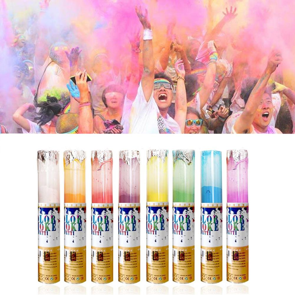 <font><b>Rainbow</b></font> Running Powder Jetting Bottle for Holi Party Novelty Festival <font><b>Toy</b></font> Colored <font><b>Corn</b></font> Powder Spray Bottle image