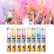 Rainbow Running Powder Jetting Bottle for Holi Party Novelty Festival Toy Colored Corn Powder Spray Bottle(China)