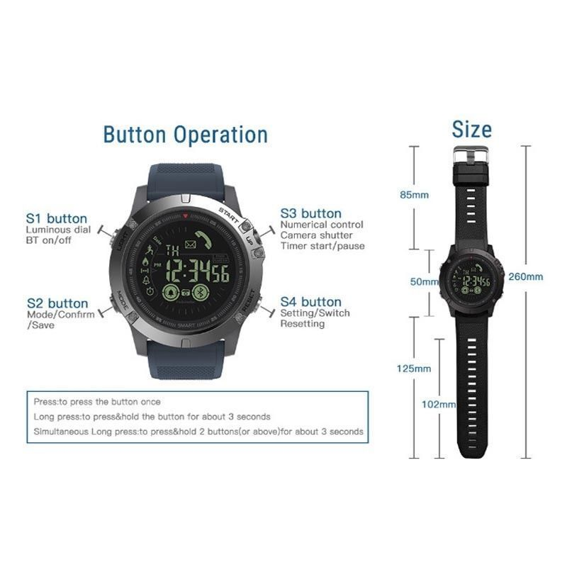 Boys' Clothing (sizes 4 & Up) Military Grade Super Tough Smart Watch Waterproof Sports Talking Watch T1 Tact