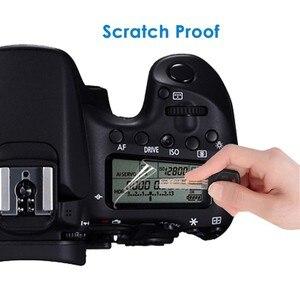 Image 2 - 2PCS LCD פנל הגנת מסך מגן עבור Canon EOS R R5 77D 9000D 70D 80D 90D 6D 5D III IV 5DS 6D Mark II 7D Mark II 760D