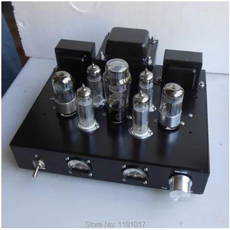 6P1 amplificateur Audio à Tube sous vide HIFI EXQUIS classe A lampe parallèle à la main Amp 6.8 w * 2
