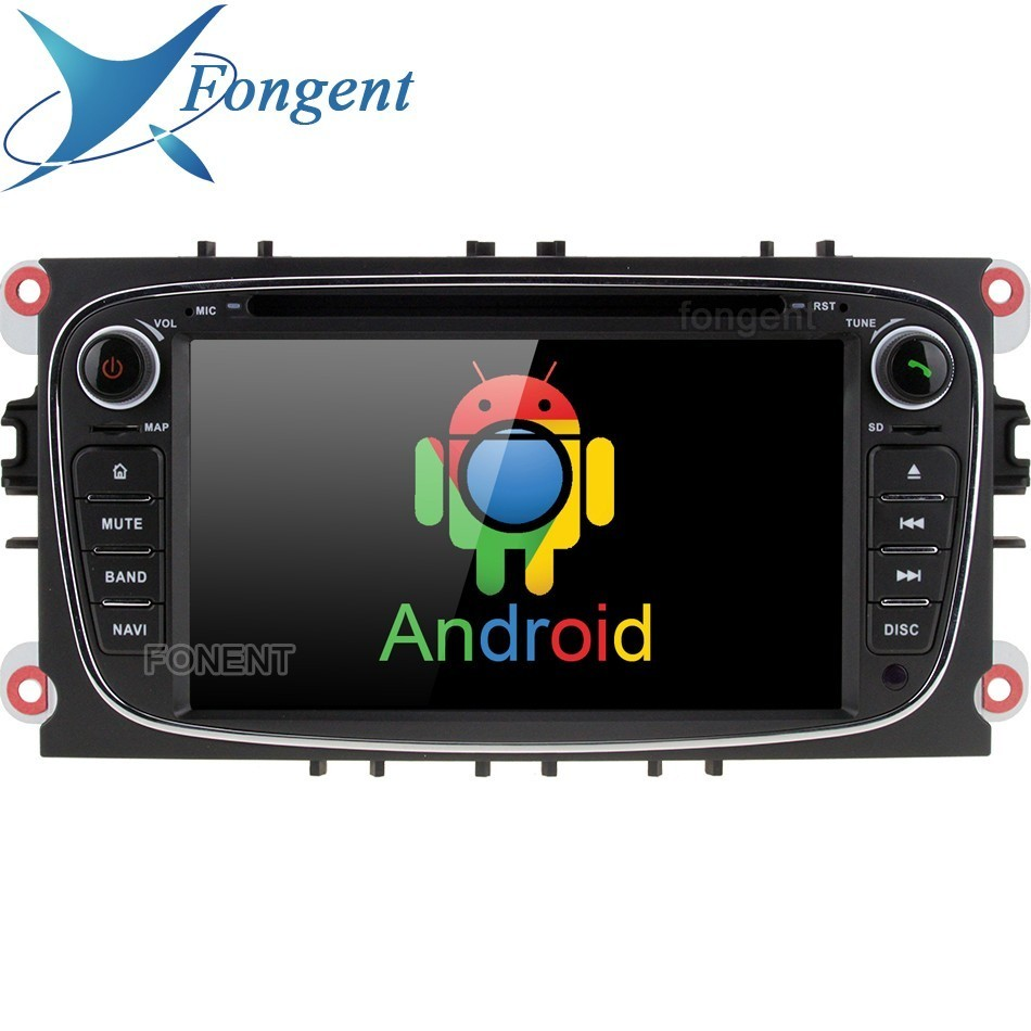 For Ford Mondeo Focus 2007-2011 S-Max C-Max 2008 2009 2010 2011 Galaxy Kuga Car auto Radio GPS Navigator Android DVD Multimedia