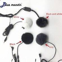 Universal Lavalier Microphone Furry Windscreen Fur Windshield Wind Muff Soft For SONY RODE BOYA Lapel Mic 1.0cm