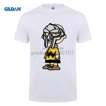 GILDAN Charlie Doom T Shirt Brown MF DOOM  Madlib Madvillain Hip Hop Rap Print T-Shirt Men Style Fashion
