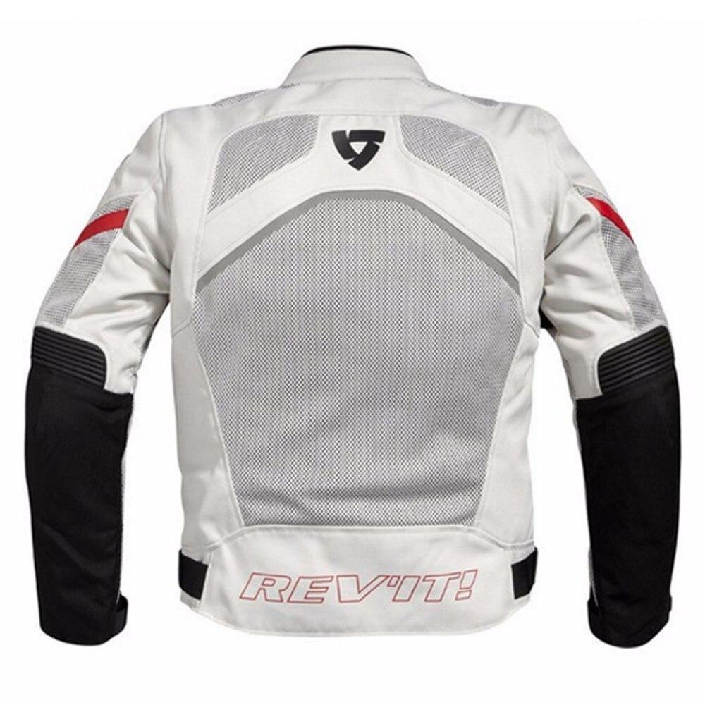 REVIT hommes et femmes veste moto vêtements de course imperméable quatre saisons doublure respirante coton doublure protection loisirs cavalier