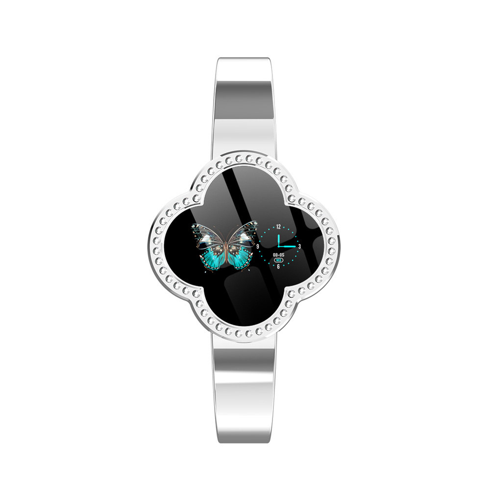 Bakeey S6 Anti-fall Glass Jewelry Buckle Heart Rate Blood Pressure Elegant Fashion Female Smart Watch Message Reminder SportBakeey S6 Anti-fall Glass Jewelry Buckle Heart Rate Blood Pressure Elegant Fashion Female Smart Watch Message Reminder Sport