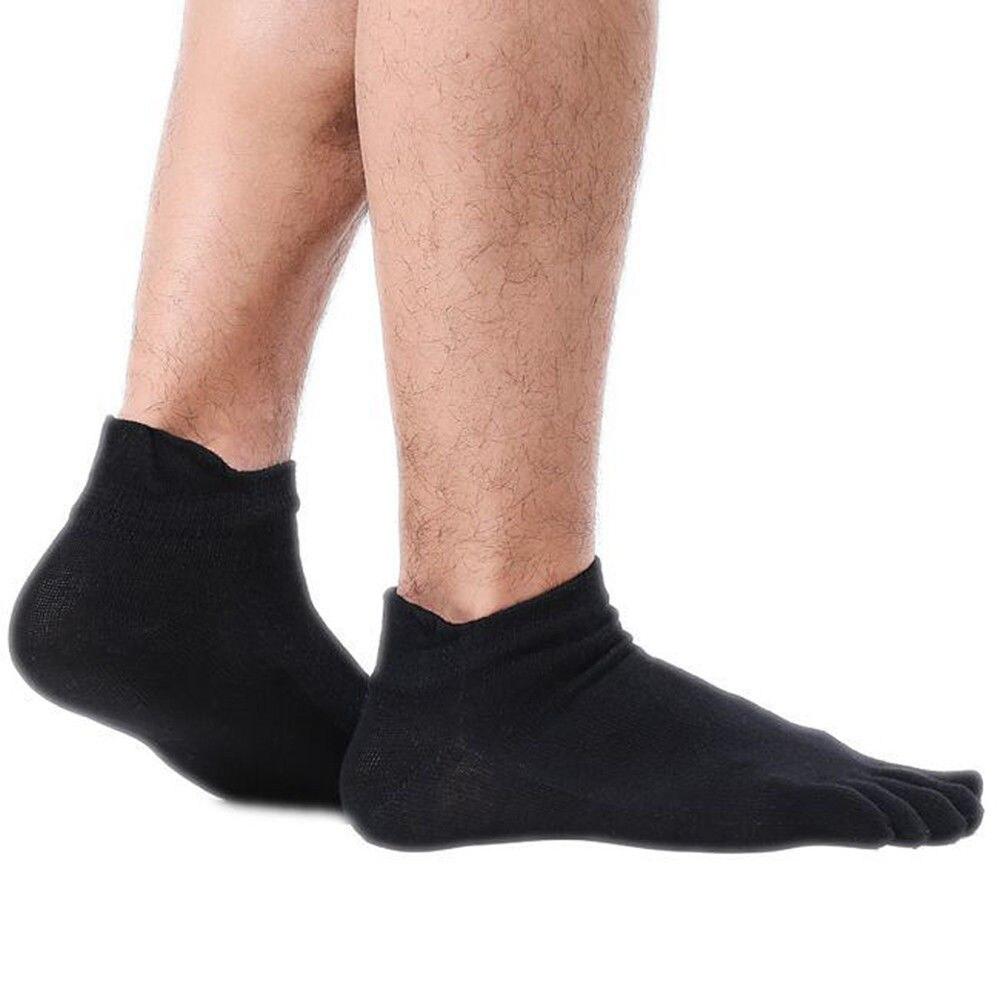 Underwear & Sleepwears 1 Pair New Autumn Winter Warm Sock Unisx Style Men Women Five Finger Pure Cotton Sock 6 Colors Accessories 2019 Official