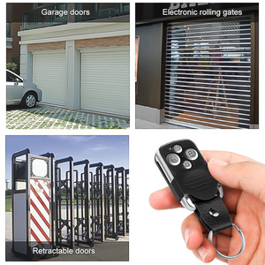 Image 5 - Wireless 433Mhz Cloning Remote Control Copy Code Remote 4 Keys Electric Cloning Gate Garage Door Auto Remote Control Duplicator