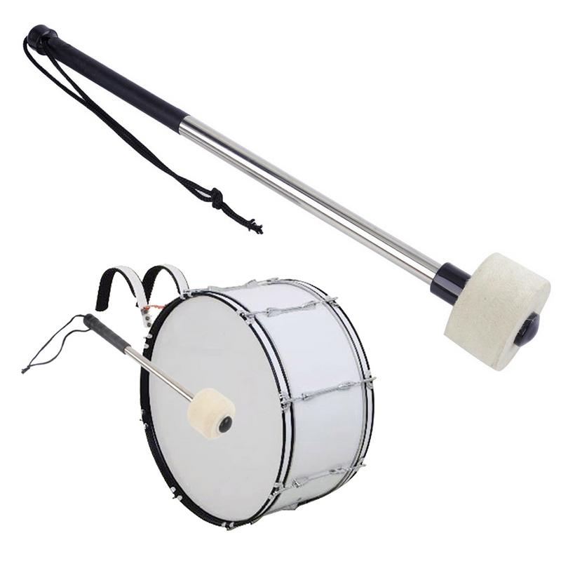 Stainless Steel Drum Stick Bass Snare Drum Drumstick Musical Instrument Accessories