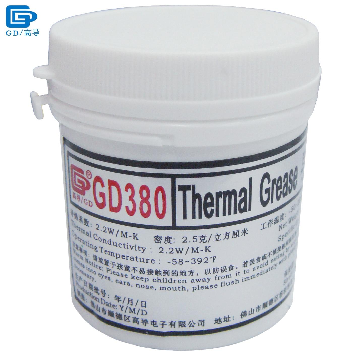 GD380 Grasa conductora térmica Compuesto de disipador de calor de - Componentes informáticos