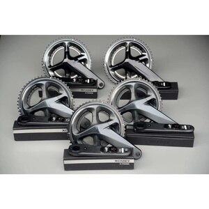 Image 1 - Bicycle Crank Chain wheel R8000 FC9100 Road Bike Power Meter Crankset Chain Wheel 170mm 172.5mm 50 34T 53 39T 52 36T