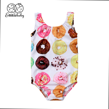 2019 Emmababy New 1-6T Kids Baby Girls Toddler Bodysuit Swimsuit Swimwear Bathin