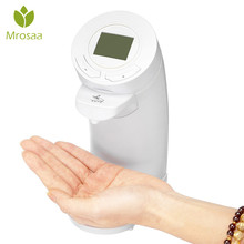 Mrosaa 200ml Automatic Touchless Electric Soap Dispenser LCD Display Soap Sanitizer Lotion Liquid Dispenser For Bathroom Kitchen