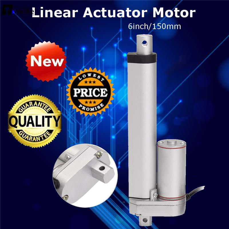 Wolike 12V 500N 6 Inch Linear Actuator DC 12V Linear Actuator Maximum Push Electric Motor For Medical Motor ControllerWolike 12V 500N 6 Inch Linear Actuator DC 12V Linear Actuator Maximum Push Electric Motor For Medical Motor Controller