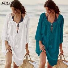 Женский кружевной купальник с кисточками ажурное пляжное платье