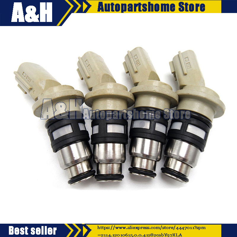 4pcs A46 H02 fuel injector case 1660041B00 1660041B01 1660041B02 for Nissan March Micra K11 N15 SUNNY B13 GA16DE