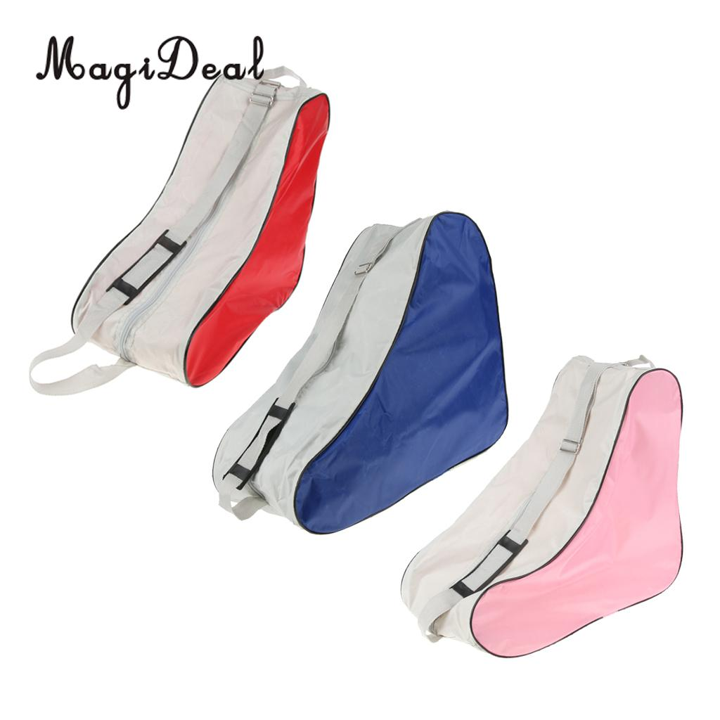 MagiDeal Roller Skates Bag Inline Skates Speed Skates Shoes Boots Carrying Bag Backpack With Adjustable Shoulder Strap
