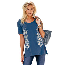 5dba37288a39 T Shirt with Side Openings - Compra lotes baratos de T Shirt with ...