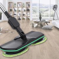Electric Automatic Sweeper Mop Hand Push Floor Cleaner Microfiber Mop Rechargeable Cleaning Machine Household Cleaning Tools