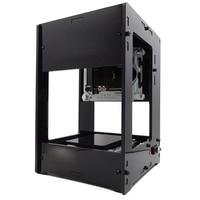New 1600mW 405nm Mini Laser Engraving Machine DIY Laser Engraver Printer Engraving Area 38x38mm With Cooling Fan