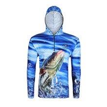 На открытом воздухе для рыбалки, с длинным рукавом Костюмы быстросохнущая дышащая спортивная одежда для рыбалки Пеший Туризм Куртка для альпинизма Весенняя Новинка