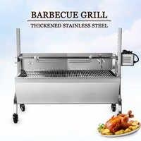 ITOP Barbecue Grill Elettrico/Manuale Rotazione Automatica Barbecue Griglie Per Esterni Utensili Da Cucina In Acciaio Inox Maiale Agnello Girarrosto
