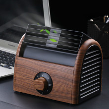 Mini- Small Home Electric Fan Dormitory Air Conditioner Charge Small Fans Office Desktop Student Bed Nothing Leaf Fan цена