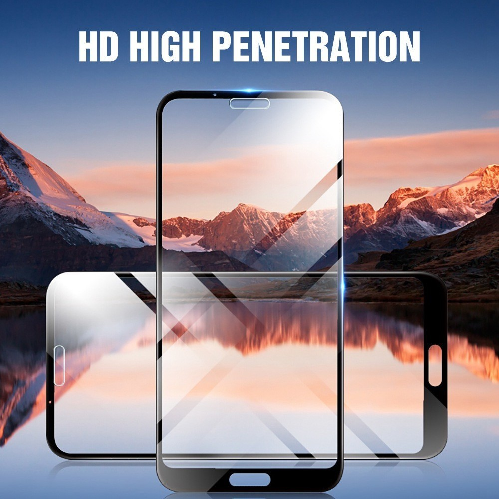 33D Full Cover Tempered Glass For Huawei P20 P30 Lite Honor 8X 8A 8C Pro 7X Screen Protector For Nova 4E 3i P Smart Glass Film in Phone Screen Protectors from Cellphones Telecommunications
