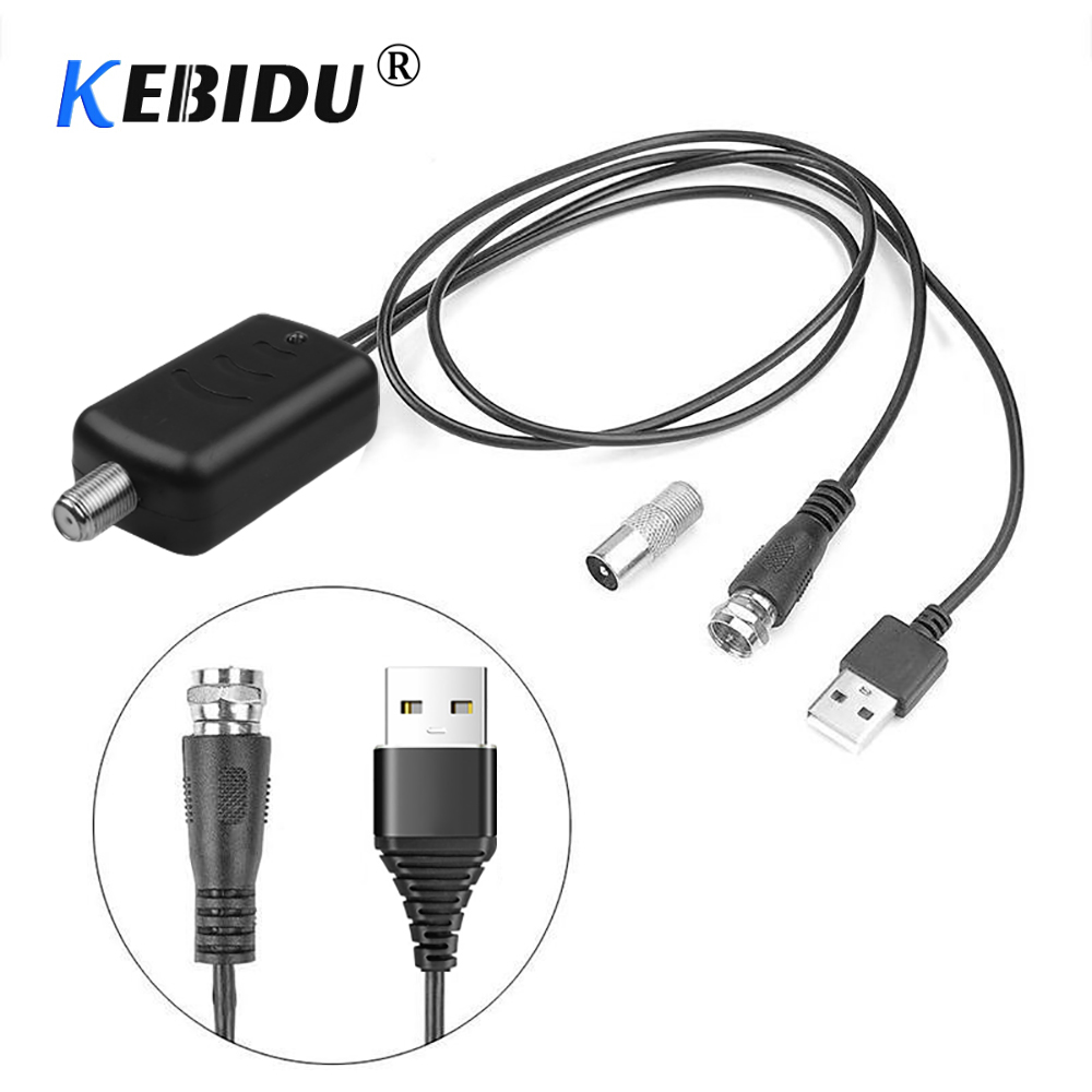 Новый усилитель сигнала цифрового телевидения Kebidumei HD, усилитель цифрового сигнала HD для кабельного телевидения Fox, HD-канал 25 дБ, низкий уров...
