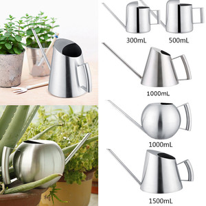 Household Stainless Steel Watering Can Kettle Garden Water Bottle Plant Flower Sprinkling Pot