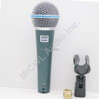 2Pcs Beta58 Beta 58 58 A traditional Cardioid Dynamic Vocal wired handheld karaoke singing Microphone Microfono Microfone