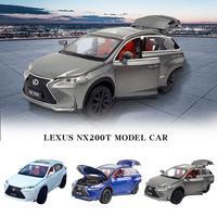Для 1:32 Lexus сплава Модель автомобиля звук и свет игрушка с инерционным механизмом двери автомобиля может открыть Высокая Игрушечная машина и