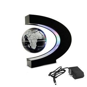 Image 4 - LED Welt Karte Magnetische Schwebender Globus Hause Elektronische Anti schwerkraft C form Lampe Neuheit Ball Licht Geburtstag Geschenke