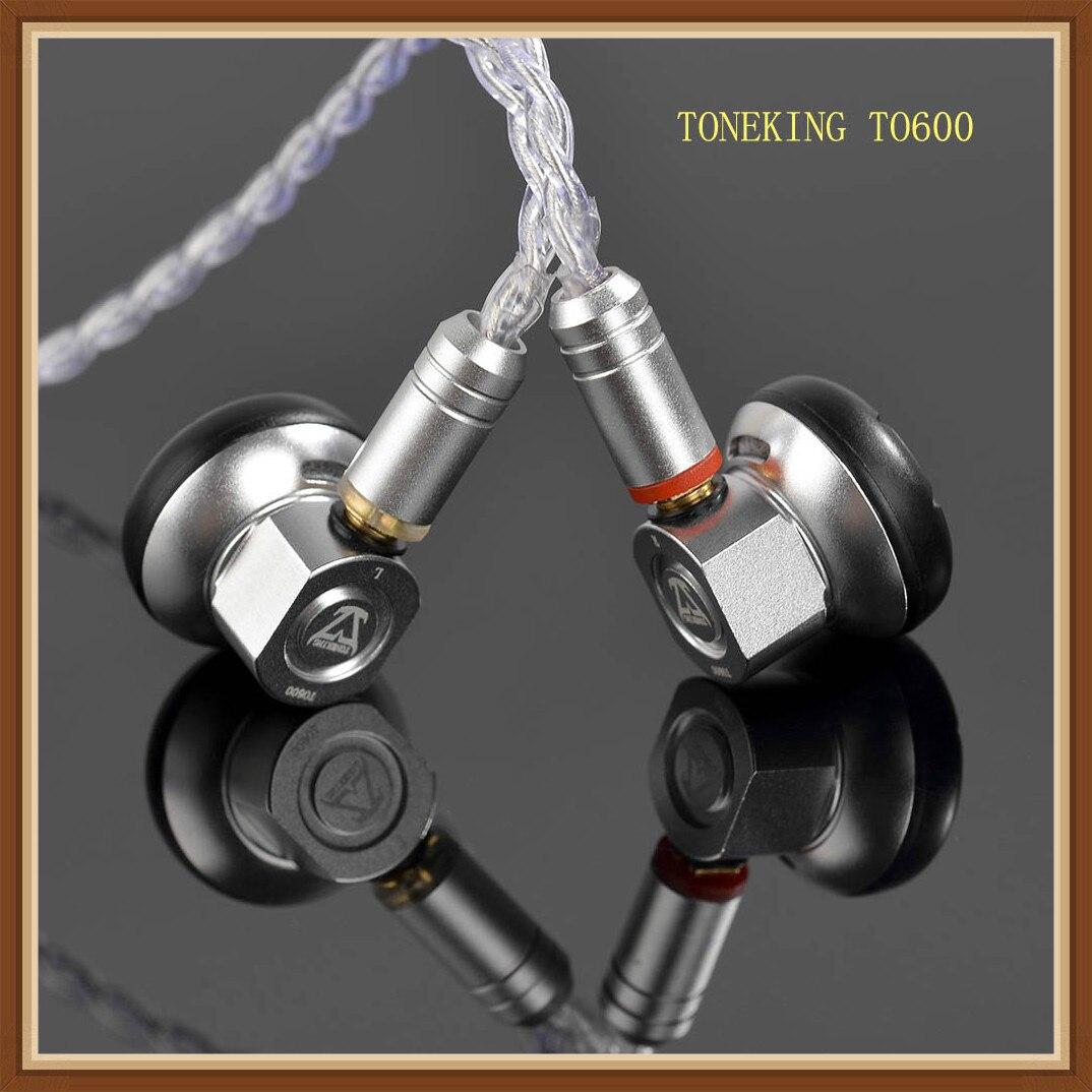 TONEKING TO600 High Impedance Flat-Head Earbud HIFI Monitor Graphene Diaphragm Dynamic Stereo MP3 Earphone W/ MMCX InterfaceTONEKING TO600 High Impedance Flat-Head Earbud HIFI Monitor Graphene Diaphragm Dynamic Stereo MP3 Earphone W/ MMCX Interface
