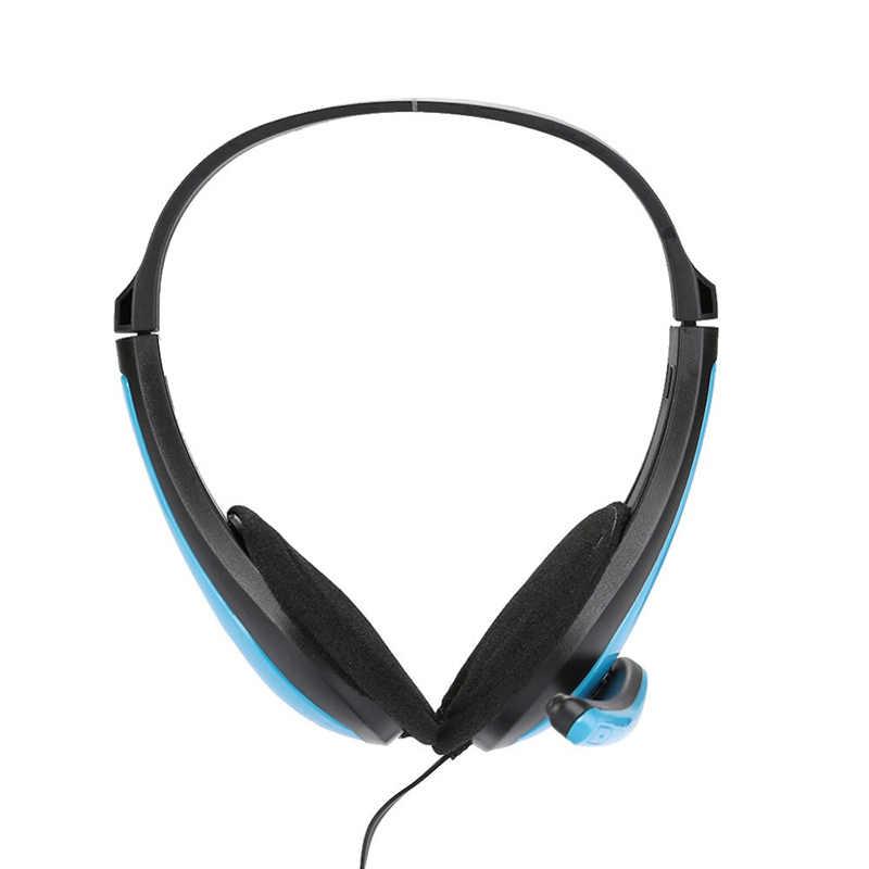 Игровой стерео одно отверстие повязка на голову, басовые наушники с микрофоном для компьютерного геймера, MP3 плеер Высокое качество