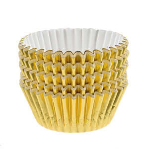Image 2 - 100 pçs mini cupcake forros bolo de papel cozimento copo muffin casos natal wending ferramentas