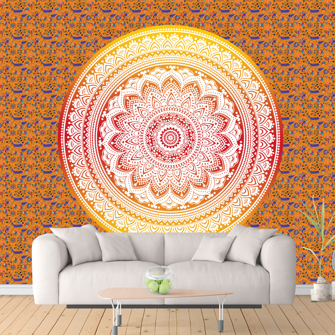 India Mandala Tapestry Home Decorated Tapestry Beach Towel Wall