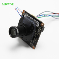 High Resolution 2MP IP Camera Module Surveillance Video Camera 1080P CCTV H.265 2MP IP Camera DC 12V with 25mm Lens